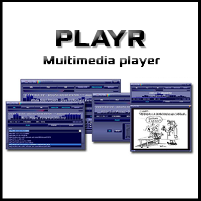 Playr - Multimedia player