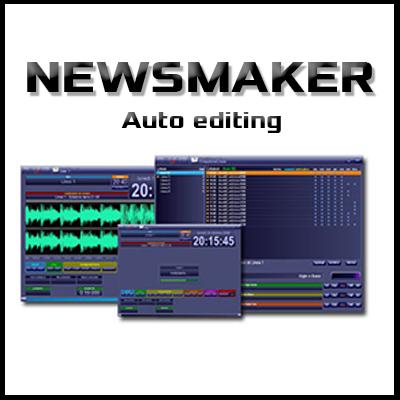 Newsmaker - Audio editing