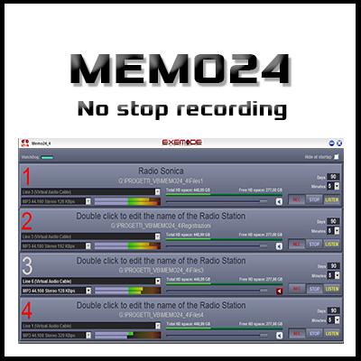 Memo24 - No stop recording